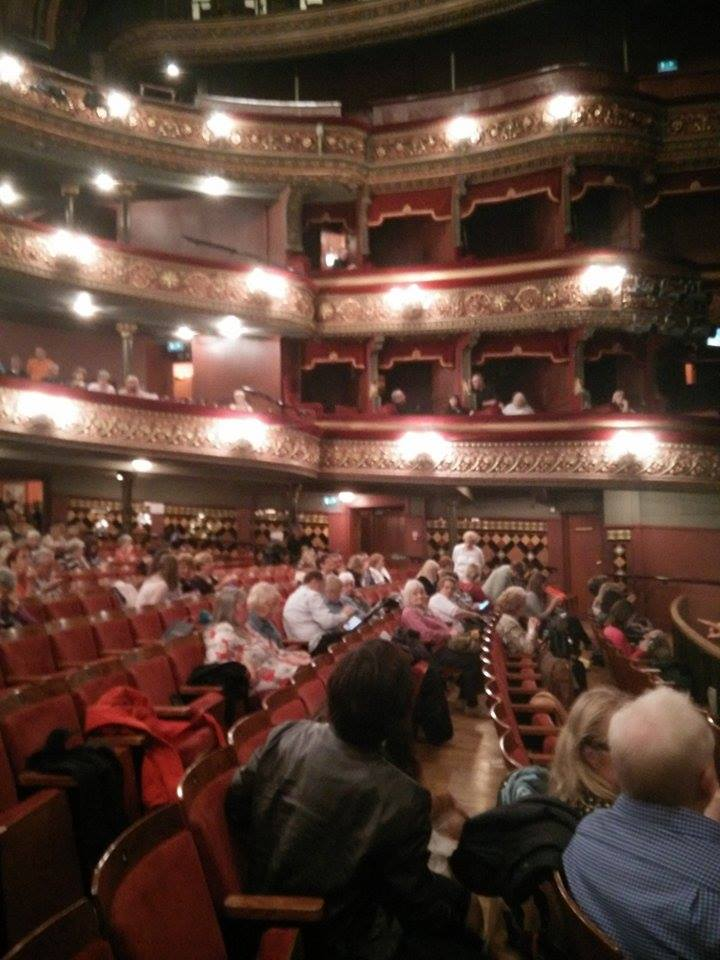First time at the Grand Theatre. Second time, tonight!